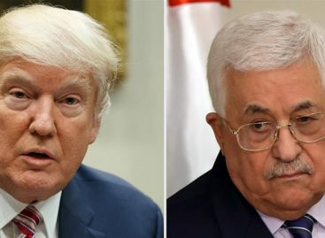 Donald Trump invites Mahmoud Abbas to White House