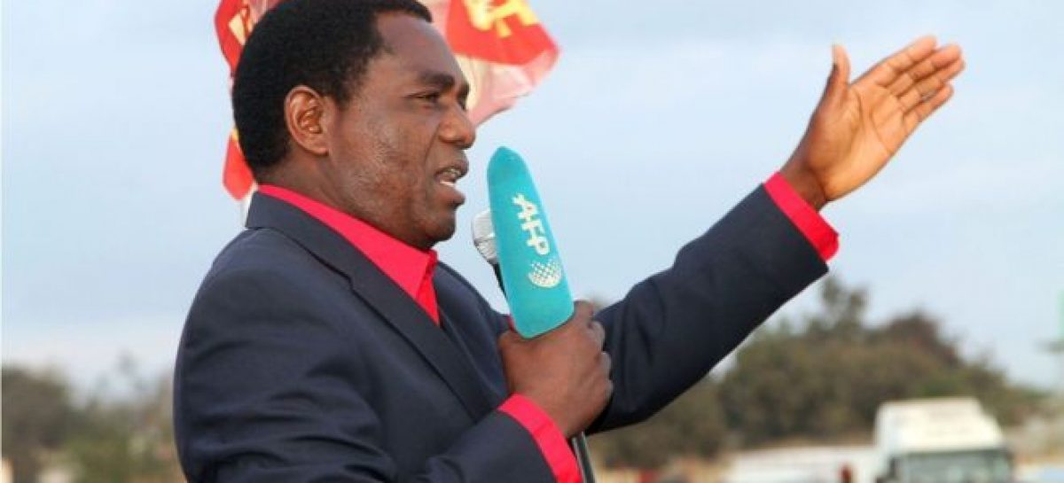 Zambian police detain opposition leader over treason