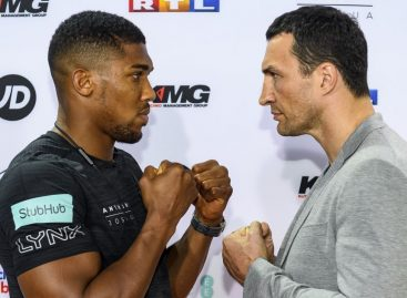Joshua, Klitschko set for historic showdown at Wembley