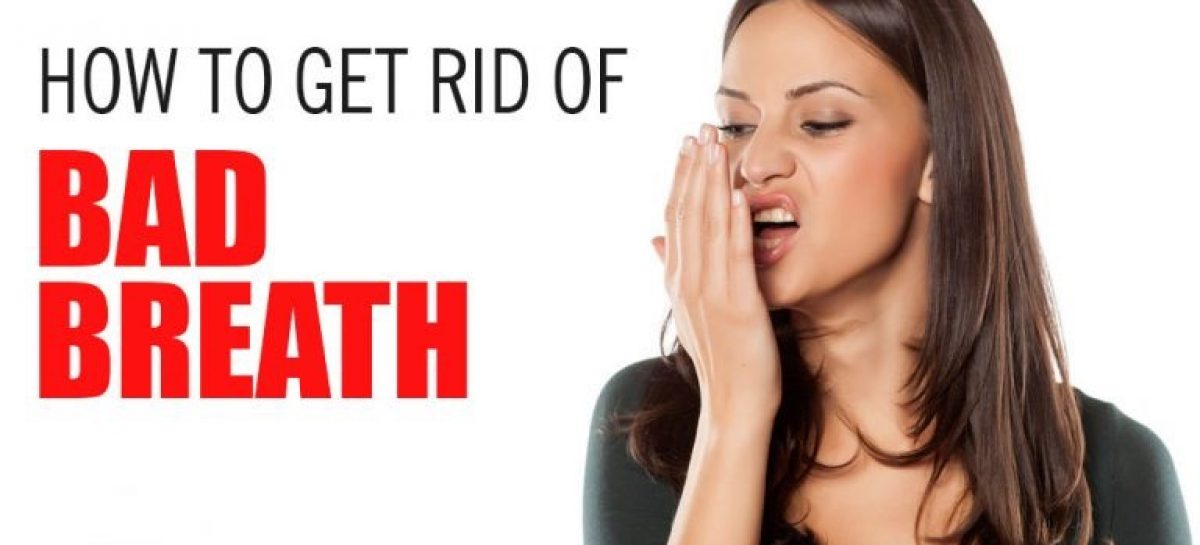 How to get rd of bad breath instantly