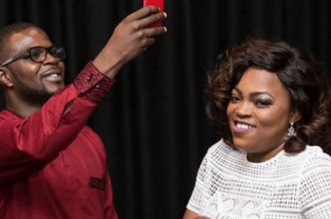 Funke Akindele, hubby unveil record label
