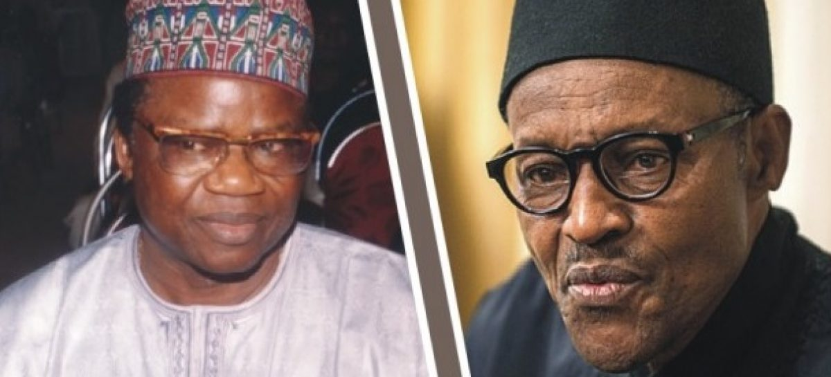 Buhari congratulates veteran journalist, Tony Momoh, at 78