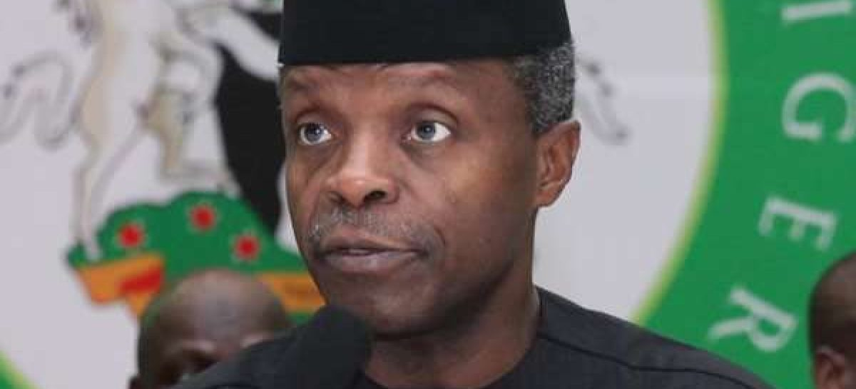 Osinbajo meets NSA, Defence Minister, others in Aso Rock
