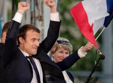 39-year-old Macron is new French President