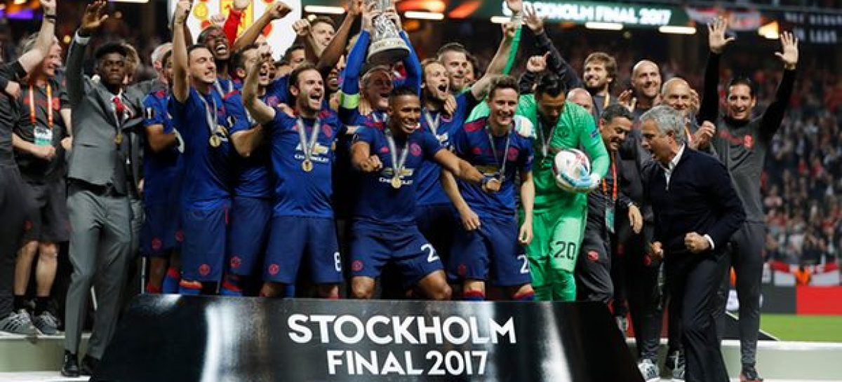 Man United win Europa Cup