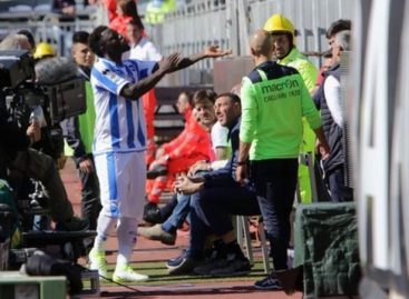 Muntari walks out of pitch over racial abuse