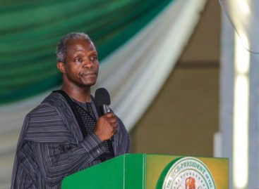 Osinbajo prays for Buhari, calls for sacrifices