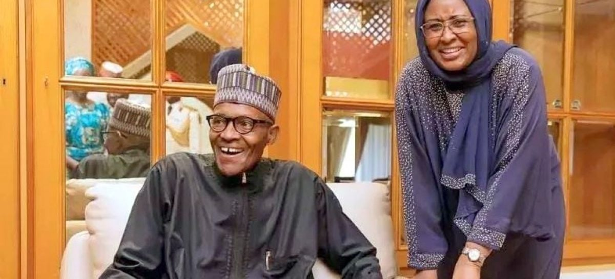 Aisha Buhari joins husband in  London