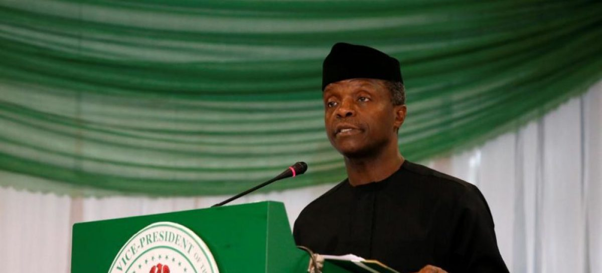 N-Power scheme best in the world – Osinbajo