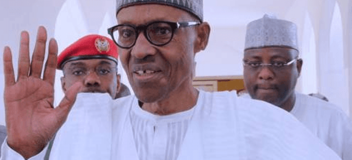 Buhari resurfaces at State House Mosque