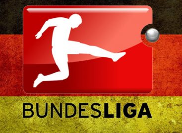 Bundesliga results for Sunday