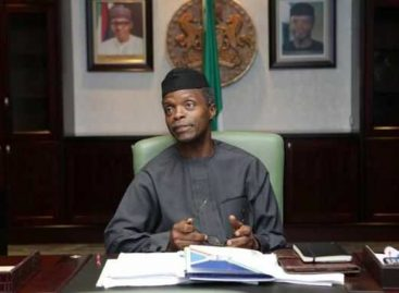 Osinbajo to sign 2017 Appropriation Bill