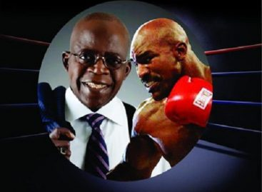 Tinubu set to fight Boxing legend, Evander Holyfield