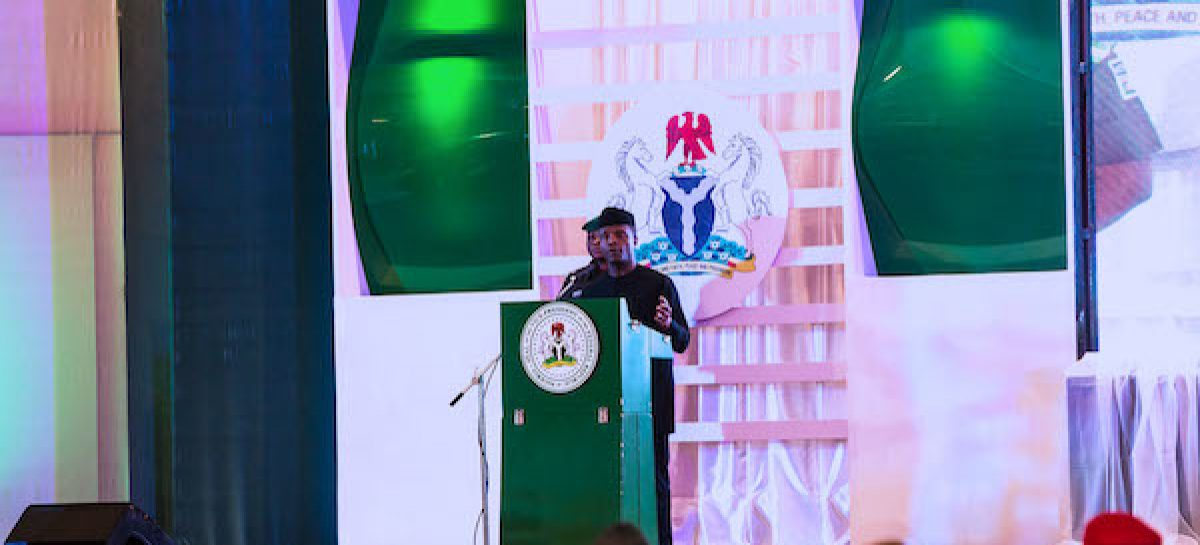 Regularise your tax status or face criminal prosecution, Osinbajo tells individuals, companies