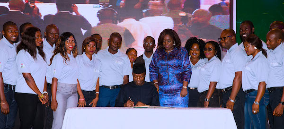 Osinbajo signs executive order on voluntary asset, income declaration