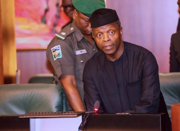 I can't disclose details of panel report – Osinbajo