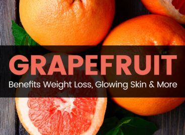 Grapefruit benefits weight loss, glowing skin