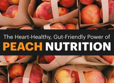 Peach Nutrition: Heart-healthy, gut-friendly, downright delicious