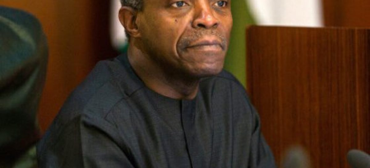 Excuses no longer acceptable – Osinbajo