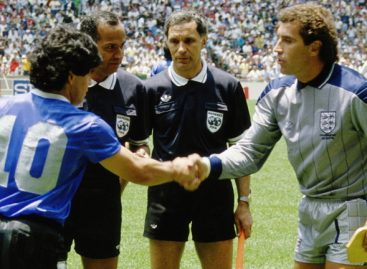 "Bulgarian linesman who failed to notice Maradona's ""Hand of God"" goal dies"
