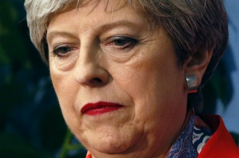 Theresa May, others berate Trump over comment on London attack