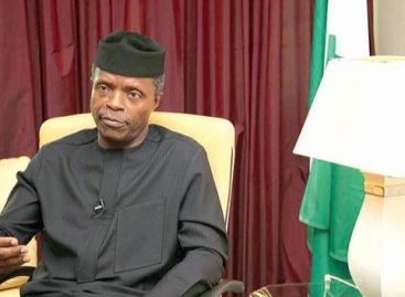 We want our stolen funds back, Osinbajo tells  U.S. delegation