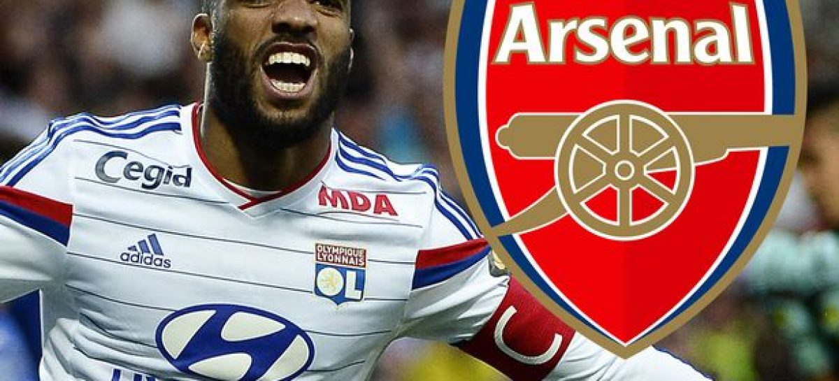 Lacazette completes medical, set to become Arsenal's record signing