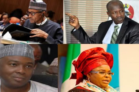 A peep into Buhari's anti-corruption war