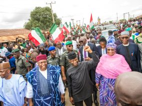 Photo News: Vice President Yemi Osinbajo, SAN visits Jalingo, Taraba State. 24th August 2017