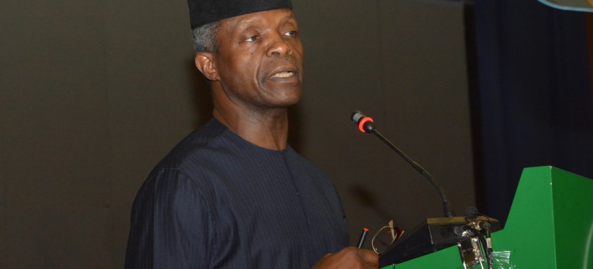 No violations in approval of N5.8bn NEMA food intervention in North-east – Osinbajo