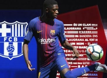 Dembele becomes second most expensive player