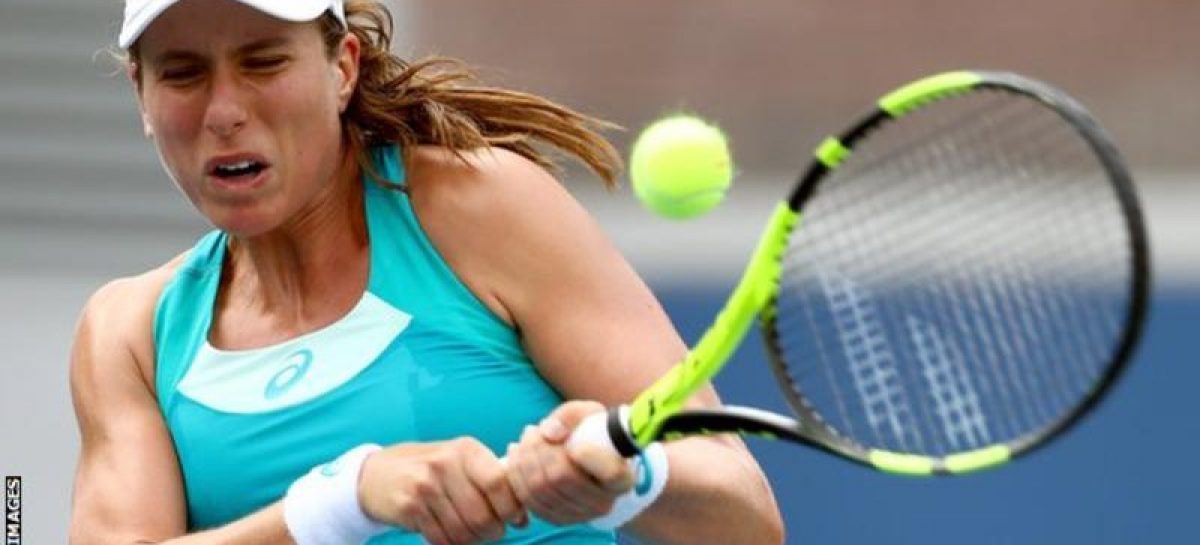 Konta crashes out in US Open first round