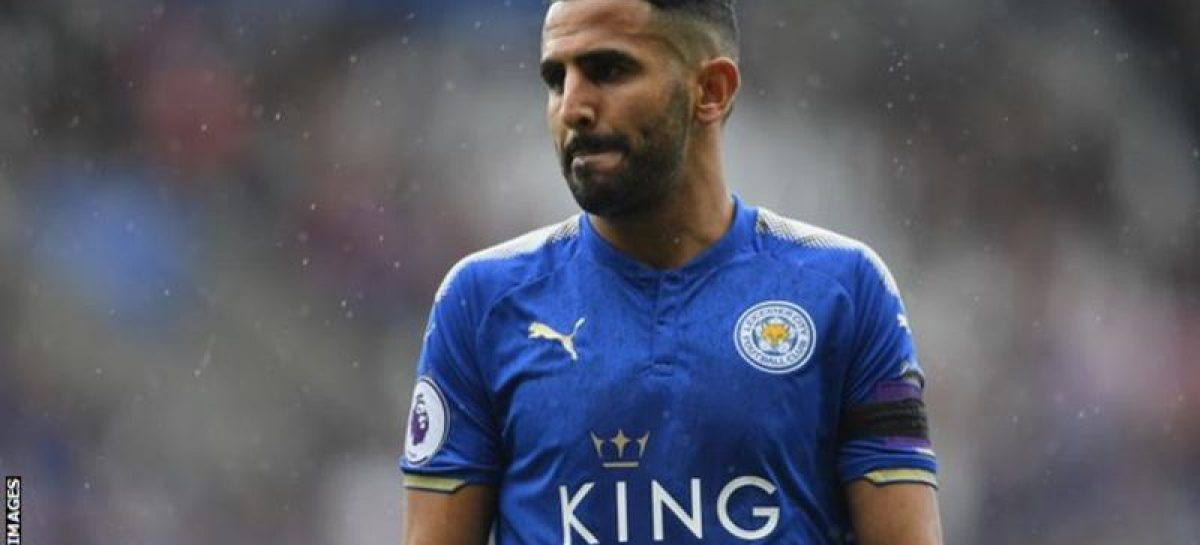 Mahrez leaves national team to formalise move away from Leicester
