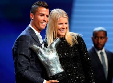 Ronaldo named UEFA Player of the Year