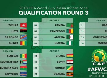 World Cup Africa zone matchday 3 qualifying fixtures