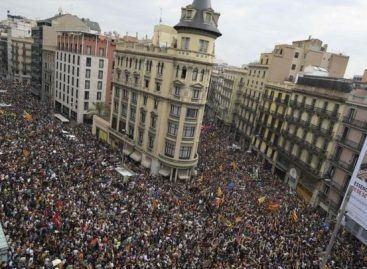 Protests hit Catalonia after referendum