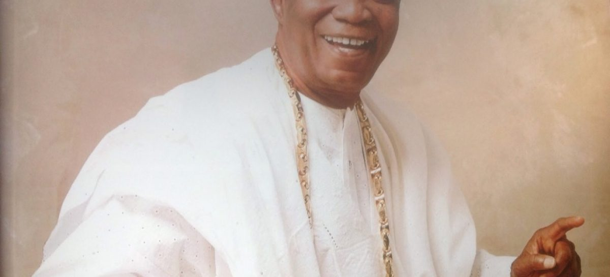 Buhari felicitates with business tyoon, Sir Adebutu, at 82