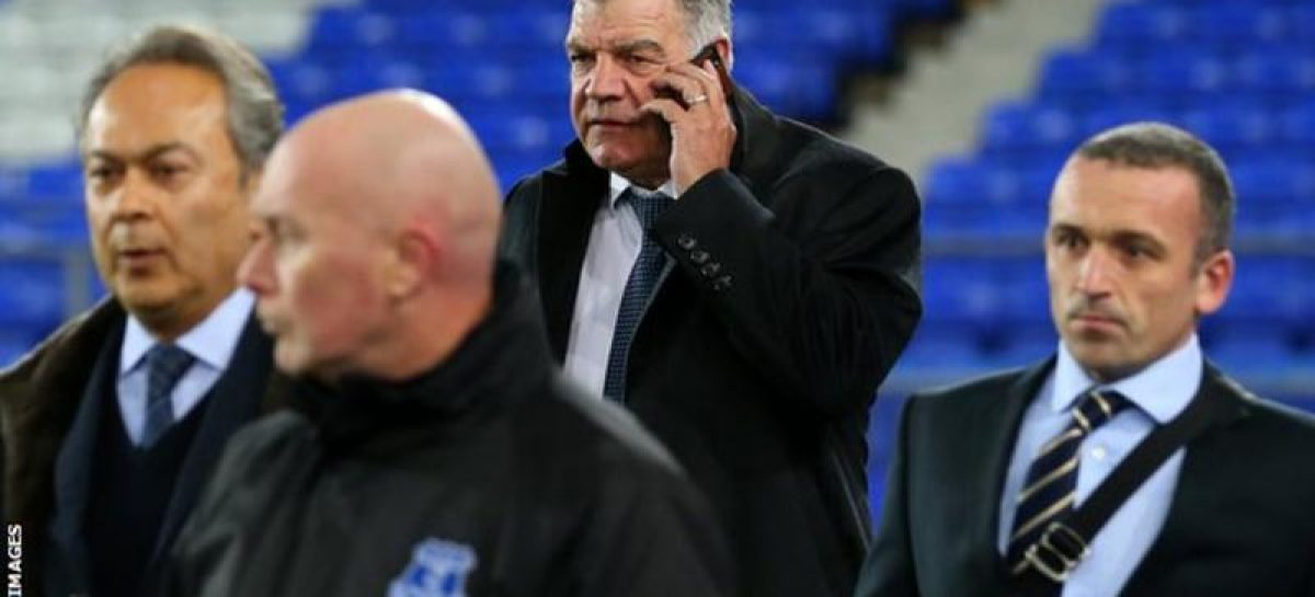 Allardyce closes in on Everton job