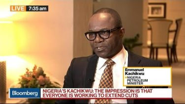 ‪[Video]: Nigeria's Dr. Emmanuel Ibe Kachikwu on Oil, #OPEC Cuts, Prices