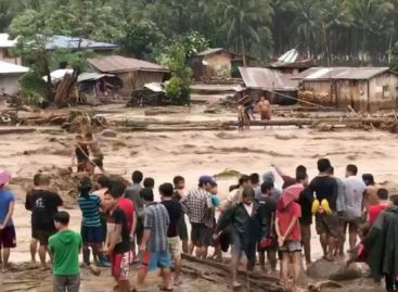 182 killed, 153 missing in Philippines storm