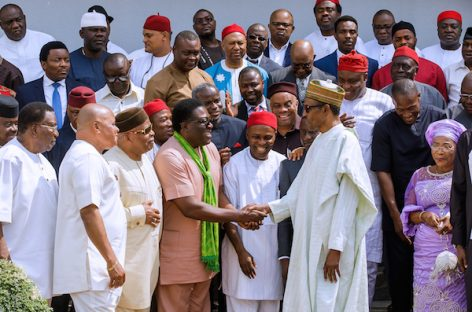 I'll give my best to all Nigerians, Buhari tells South-East APC leaders