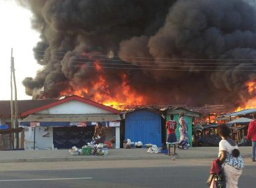 Buhari sympathises with Kano fish market fire victims