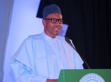 Buhari mocks Orubebe at Democracy Day lecture
