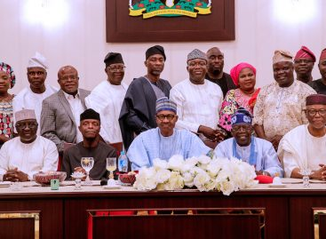 Buhari meets Tinubu, members of South-west APC caucus