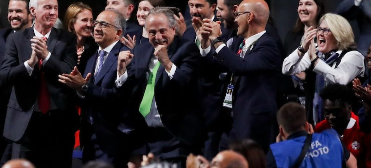 US, Canada, Mexico to co-host 2026 World Cup