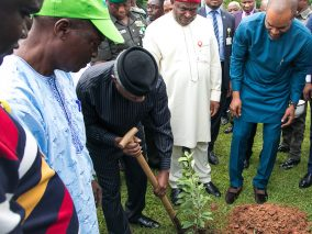 "Vice President Yemi Osinbajo attends 2018 World Environment Day with the theme ""Beat Plastic Pollution"" held at the State House Conference Centre, Abuja"