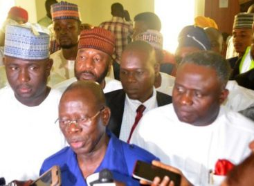 Oshiomhole threatens to suspend Ngige over failure to inaugurate boards
