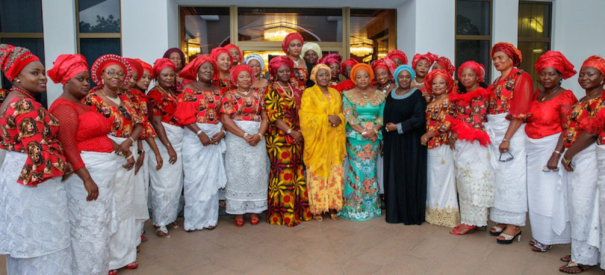 Entrench unity, dialogue among your members, Aisha Buhari tells APC women