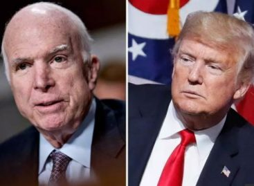 McCain bans Trump from attending own funeral