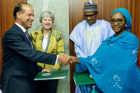 Tackle Buhari on dictatorial tendencies, 4trn missing funds, PDP tells Theresa May